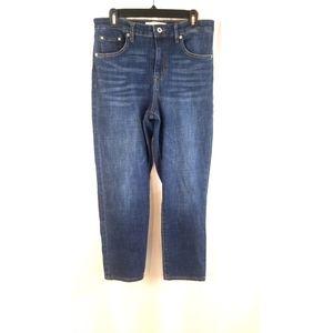 Ella Moss Size 10 High Waist Straight Leg Jeans